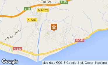 Mapa Torrox Apartamento 67674