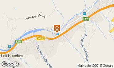 Mapa Chamonix Mont-Blanc Apartamento 89182