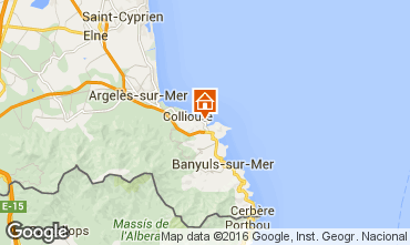 Mapa Collioure Apartamento 103448