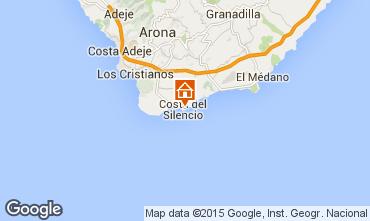 Mapa Costa del Silencio Apartamento 14662