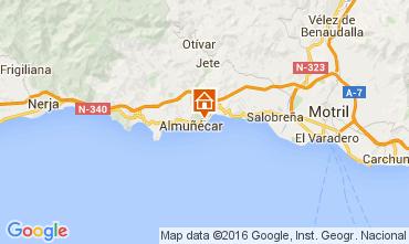 Mapa Almu�ecar Casa 59294