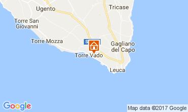 Mapa Santa Maria di Leuca Villa 76913