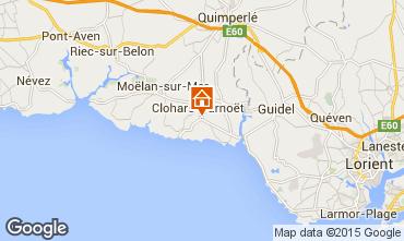 Mapa Clohars Carnoet Casa 94820