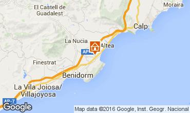 Mapa Benidorm Villa 92946
