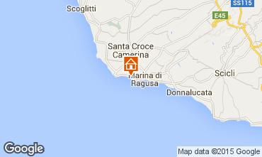 Mapa Marina di Ragusa Apartamento 40914