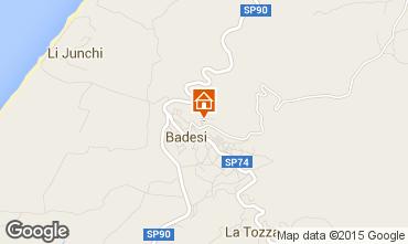 Mapa Badesi Apartamento 92351