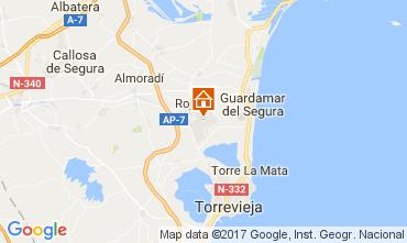 Mapa Torrevieja Apartamento 109820
