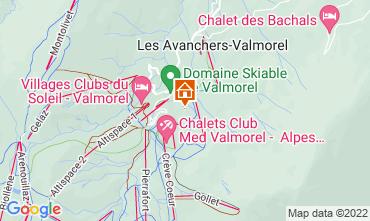 Mapa Valmorel Apartamento 111732