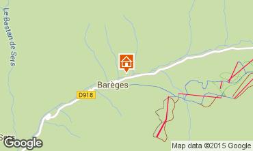 Mapa Barèges Apartamento 94988