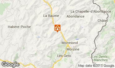 Mapa Saint Jean d'Aulps- La Grande Terche Apartamento 101572