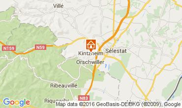 Mapa Kintzheim Casa rural 105801