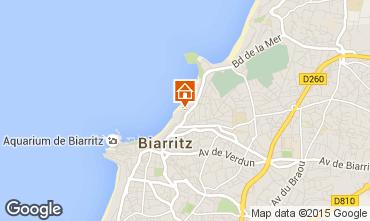 Mapa Biarritz Apartamento 24484