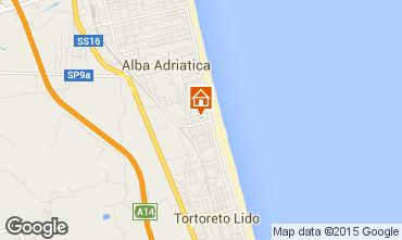 Mapa Alba Adriatica Apartamento 88815
