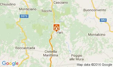 Mapa Siena Villa 102687