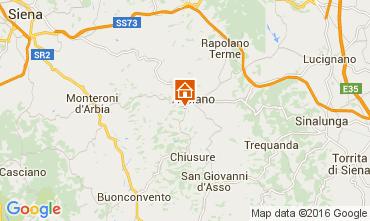Mapa Siena Apartamento 71873