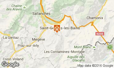 Mapa Saint Gervais Mont-Blanc Chalet 80692