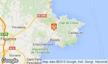 Mapa Rosas Villa 102783