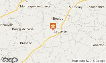 Mapa Lauzerte Casa rural 97895