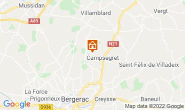 Mapa Bergerac Casa rural 118030