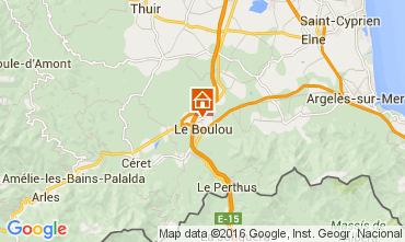 Mapa Le Boulou Apartamento 84534