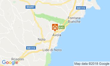 Mapa Avola Villa 117196