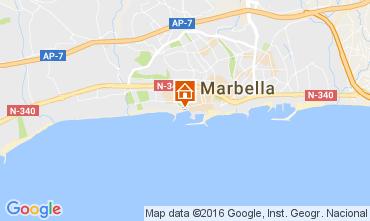 Mapa Marbella Apartamento 77829
