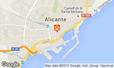 Mapa Alicante Apartamento 8191