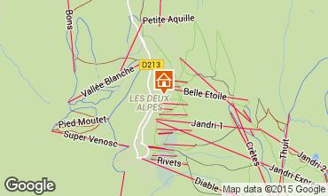 Mapa Les 2 Alpes Apartamento 86897