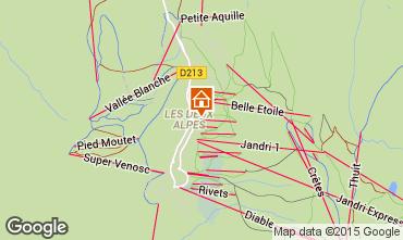Mapa Les 2 Alpes Apartamento 48478