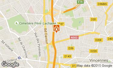Mapa PARÍS Apartamento 97715