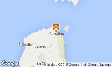 Mapa Corralejo Apartamento 76394
