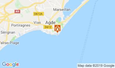 Mapa Cap d'Agde Estudio 118696