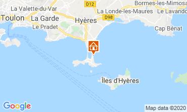 Mapa Hyères Estudio 5810