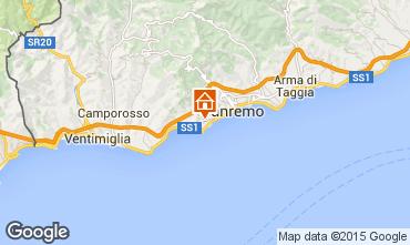 Mapa Sanremo Apartamento 84648