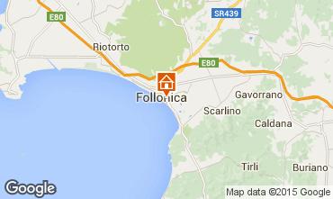 Mapa Follonica Apartamento 75628