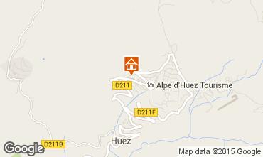 Mapa Alpe d'Huez Apartamento 50340