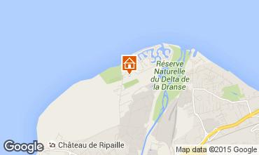 Mapa Thonon Les Bains Mobil home 99142