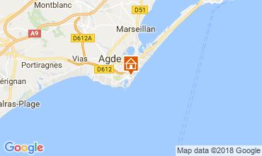 Mapa Cap d'Agde Apartamento 112271