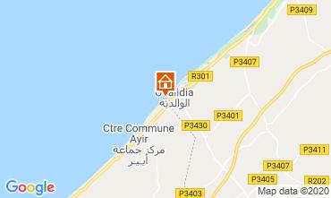 Mapa Oualidia Villa 23490