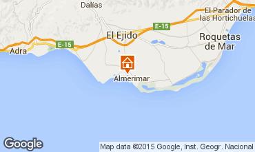 Mapa Roquetas de Mar Chalet 98443