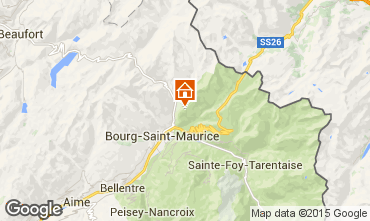 Mapa Les Arcs Apartamento 91604