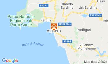 Mapa Alghero Apartamento 51195