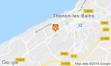 Mapa Thonon Les Bains Apartamento 118446