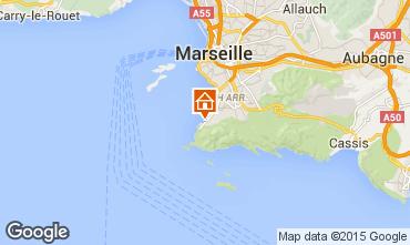 Mapa Marsella Casa 92918