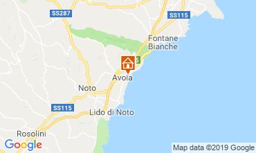 Mapa Avola Villa 54190