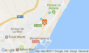 Mapa Torremolinos Apartamento 108216