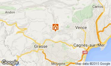 Mapa Cannes Villa 92568