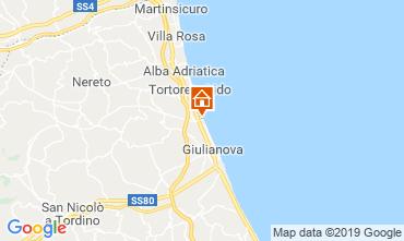 Mapa Giulianova Apartamento 71115