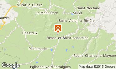 Mapa Besse - Super Besse Chalet 3792