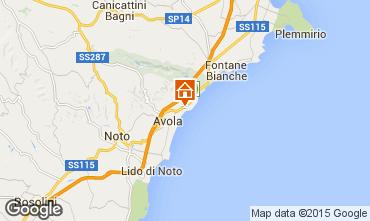Mapa Avola Villa 23625